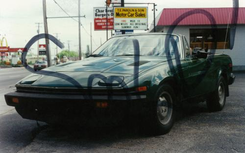 We have always maintained an interest in British cars, this Triumph TR7 finding a home in North Bay in 1987. We can proudly count its owner as a loyal client of ours ever since. Although she later switched to a Volvo convertible as her summer car.